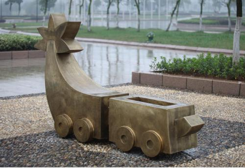 Metal Heykeller / Metal Sculptures